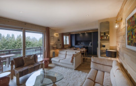 Appartement luxe et charme alpin, à Megève