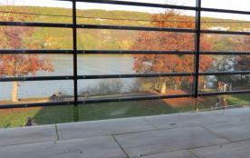 balcon terrasse sur seine