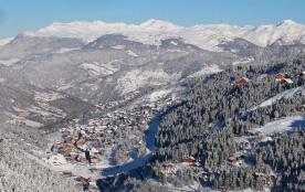 Spacieux duplex 4 à 7 pers, S/ piste, skis-aux pieds- Méribel-Mottaret 3 Vallées