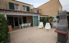 Location de vacances à Portiragnes plage (34), résidence avec piscine, jolie villa...