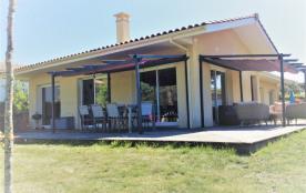 Villa récente 8 pers bord de plage océane aussi confortable que chez vous avec 2 parkings gratuits sécurisés au calme