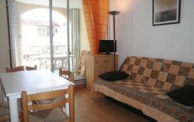 Narbonne Plage (11) - Quartier des Karantes - Résidence les Maisons de la Plage. Appartement 2 pi...