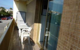 Studio vue colline Balcon