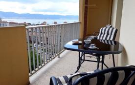 balcon sur cuisine et chambres