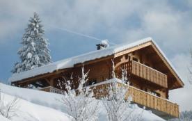 Superbe Chalet Bois massif vue panoramique avec sauna