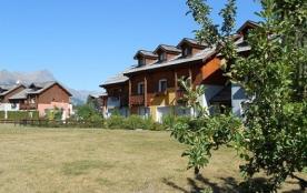 Chalets jardin alpin