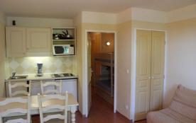 Le village des Issambres - Studio cabine - 24 m² environ - jusqu'à 4 personnes.
