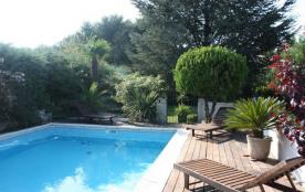 L'Hacienda est une villa très agréable située dans un coin résidentiel de Rochefort du Gard (Lang...