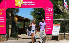 Camping International, 70 emplacements, 80 locatifs