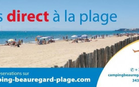 Camping Beauregard Plage, 200 emplacements
