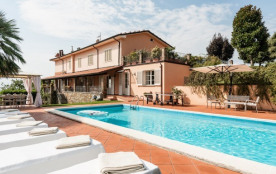 Villa Lory on the Lucca hills