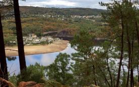 Vue sur le lac de Guerlédan