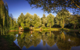 Camping Sites & Paysages de L'Etang, 97 emplacements, 41 locatifs
