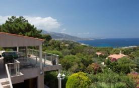 Belle villa avec vue mer à Marine de Davia