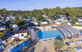 Camping La Pignade 4* - MH Elégance 2ch 4-6pers avec terrasse
