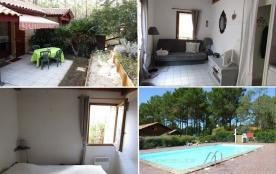 Maison mitoyenne - Lacanau Océan - location saisonnière ou location de vacances.