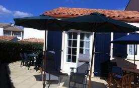 Dans résidence avec piscine, Maison agréable de Type 3 pour 4/5 pers.