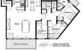 Appartement 2 pièces cabine 4 personnes (A9)