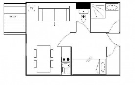 Studio cabine 4 personnes (123)