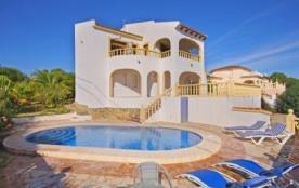 Villa OL Cac - Agréable villa pour 4 personnes avec piscine privée et une jolie vue sur la mer et...