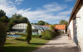 Camping La Ferme des Aulnes - Chalet Espace 40 m²