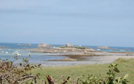 vue de la plage du Theven