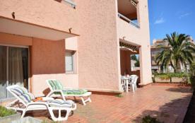 Résidence Sainte Maxime les Plages - Appartement 2 pièces cabine de 36 m² environ pour 6 personne...