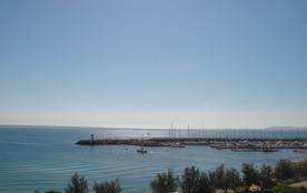 Vue de l'Appartem. s/laplage et la Mer