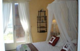 Principal bedroom and french windows to private balcony