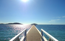 ponton de la plage