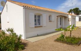Maison 4 pièces de 90 m² environ pour 7 personnes, à 1km300 de la plage et 500 m des commerces, c...