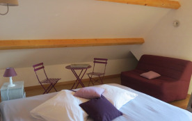 Chambre 1er étage lit 160 - balcon