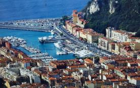 Appartement dans résidence au pied du château de Nice