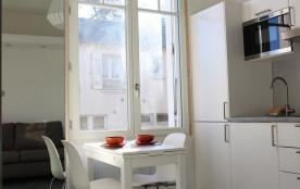 Studio - 17 m² environ - jusqu'à 2 personnes.