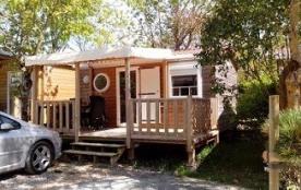 Camping Au Petit Port de l'Houmeau - Mh O'phea 1ch 2pers + Terrasse Couverte