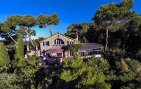 Belle villa vue panoramique mer 180°, piscine, térasses.. LIBRE TOUTE L'ANNEE!
