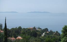 Les Restanques - T1 vue mer et îles - RAYOL CANADEL