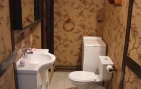 SALLE D' EAU cabine douche lavabo et wc