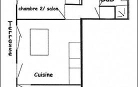 Appartement 2 pièces coin montagne 5 personnes (003)