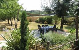 Gite 8 personnes avec piscine sur domaine privé, près Bergerac - Saint-Géry