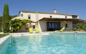 La Romance, qualité, piscine privée, Vallée de la Cèze, PMR