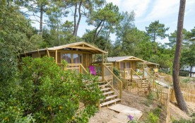 Flower Camping des Pins, 70 emplacements, 80 locatifs