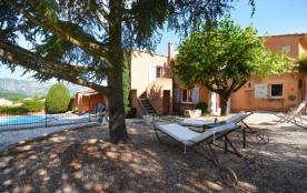 Gîtes de France Le Grangeon. Maison style provençal, indépendante, bien aménagée et équipée avec ...