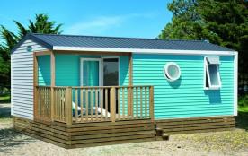 """Mobil-home Confort """"Evasion"""" / 4 - 6 personnes - climatisé - Pour profiter des joies du camping en bénéficiant d'un c..."""