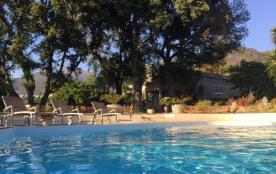 Gîte 1 à 4 personnes dans une ancienne cave à vin avec piscine près de Saint Florent Haute Corse. - Patrimonio