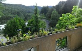 vue depuis balcon gîte Soleil