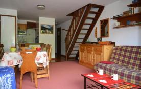 Appartement 3 pièces de 73 m² environ pour 8 personnes, la résidence Castel des Neiges A est situ...