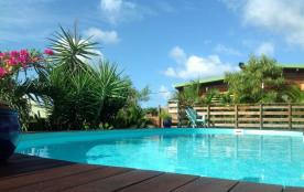 Espace piscine commune