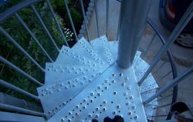 escalier colimaçon exterieur