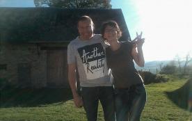 C'est nous ! Linda et Didier, les propriétaires.